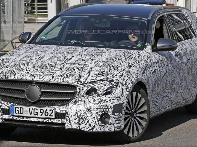 Новый универсал Mercedes-Benz E-Class Estate заснят во время тестов 2.jpg
