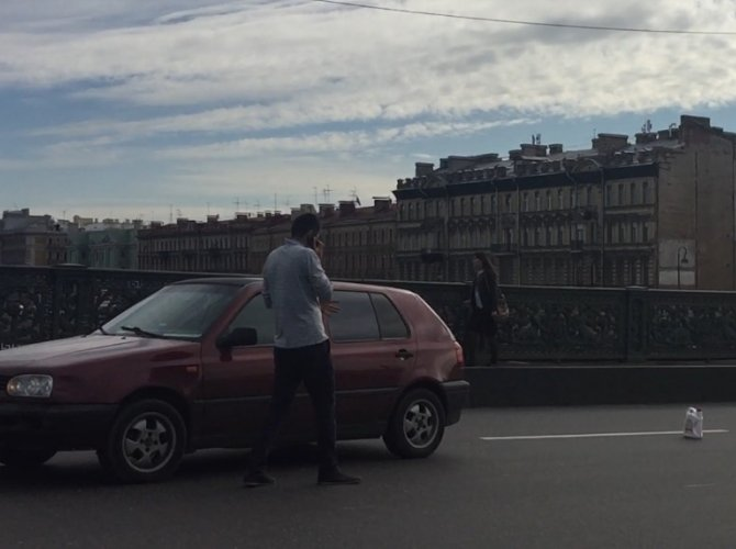 ДТП на Литейном мосту