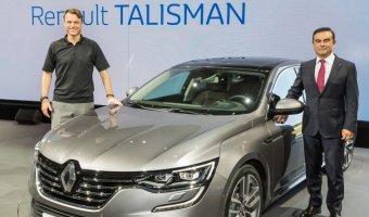 Продажи нового Renault Talisman начнутся в первой половине 2016 года