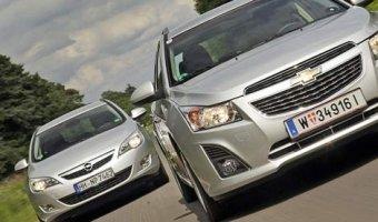 Opel и Chevrole
