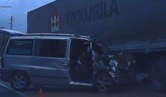 В ДТП в Крыму погибли два человека, восемь ранено