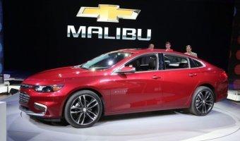 Стала известна стоимость обновленного седана Chevrolet Malibu