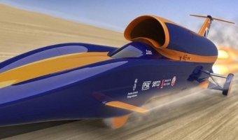 Автомобиль, развивающий скорость до 1600 км/ч, пройдет испытание в Африке