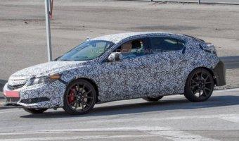 В Европе тестируют новое поколение Honda Civic Type R