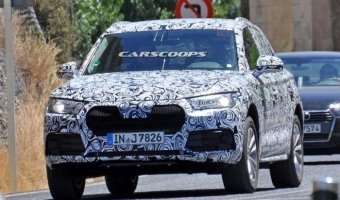 В Испании тестируют Audi Q5 2017 модельного года