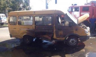 Взрыв маршрутки в Волжском записан на видео