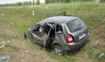 В Ростовской области в ДТП пострадала семья из пяти человек, в том числе трое детей