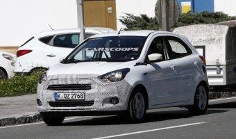 Ситикар Ford Ka замечен в Европе