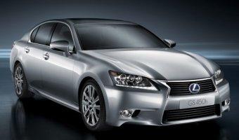 Гибридный седан Lexus GS 450h уходит с авторынка России
