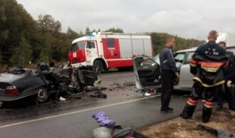 Под Пензой в ДТП погибли шестеро