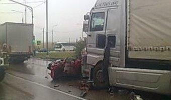 Под Тулой в ДТП погибли двое взрослых и ребенок