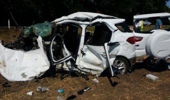 В Краснодарском крае в лобовом столкновении погибли три человека