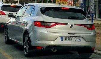 В Европе тестируют новое поколение Renault Megane