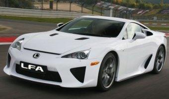 Преемник Lexus LFA получит гибридную установку мощностью 800 лошадиных сил