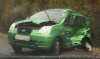 под Выборгом в ДТП с инкассаторской машиной погиб водитель