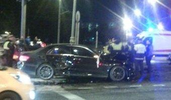 В ДТП с пятью машинами на юге Москвы погиб человек