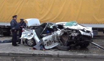В ДТП с такси в Новосибирске погибли три человека