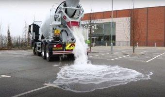 В Британии создали дорогу, которая не боится воды