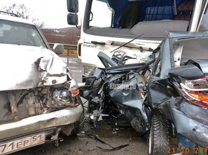 Под Мурманском в ДТП погибли три человека на Lada Granta 6.jpg