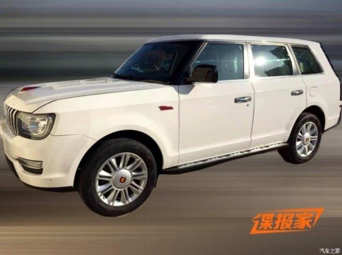 Китайский Range Rover Hongqi LS5 проходит дорожные тесты 2.jpg