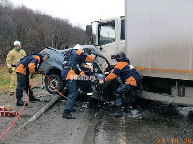Под Мурманском в ДТП погибли три человека на Lada Granta 5.jpg
