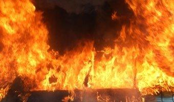 В Северной Осетии в ДТП с КамАЗом сгорели четыре человека