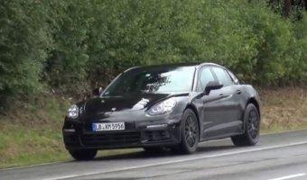 Новый Porsche Panamera замечен в Германии