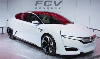 Водородную Honda FCV оснастят электрическим и гибридным двигателем