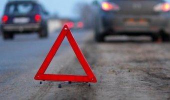В Москве из-за гололеда столкнулись семь автомобилей