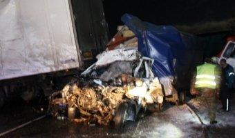 Под Мурманском столкнулись 10 автомобилей