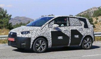Opel Meriva третьего поколения заснят на тестах