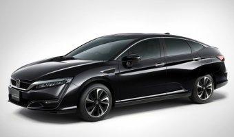 Honda представили новый серийный автомобиль на водороде - Clarity