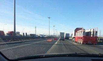 В массовом ДТП в Петербурге пострадали четверо