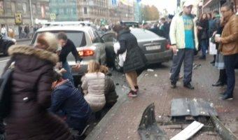 У водителя, сбившего пятерых пешеходов в Петербурге, нашли наркотики