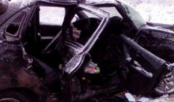 В аварии под Каменском-Уральским погибли два человека