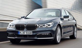 В России начались продажи нового седана BMW 7-series