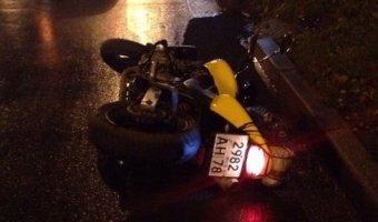 На Индустриальном проспекте в ДТП пострадал мотоциклист