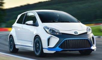 Toyota  выпустит «заряженную» версию Yaris  в 2017
