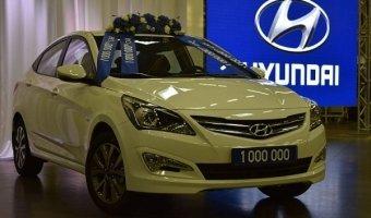 Hyundai произвели в России миллионный автомобиль