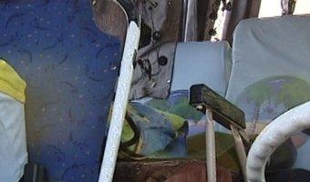 Под Хабаровском перевернулся автобус с детьми