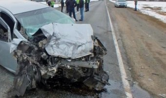 На Алтае в ДТП погибли 4 человека