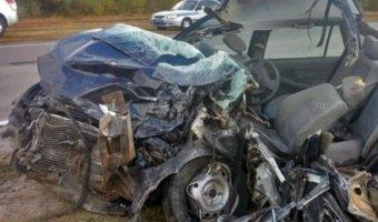 В Волгоградской области в ДТП с фурой погибли два человека