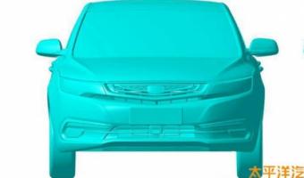 патентные изображения седана Geely Emgrand EC7