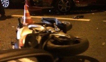 В ДТП на улице Нахимова пострадала пассажирка мотоцикла