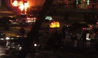 В Москве в аварии на Кутузовском два человека погибли и шесть пострадали