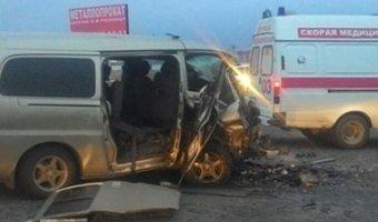 Под Абаканом в ДТП четыре человека погибли и семь пострадали