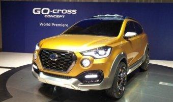 Datsun представили концепт кроссовера GO-cross