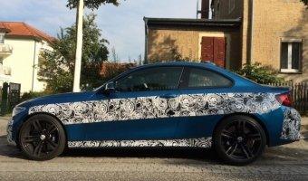 Новый BMW M2 2016 рассекретили перед премьерой