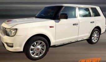 Китайский Range Rover Hongqi LS5 проходит дорожные тесты