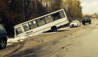 В ДТП с маршруткой в Ленобласти пострадали семь человек